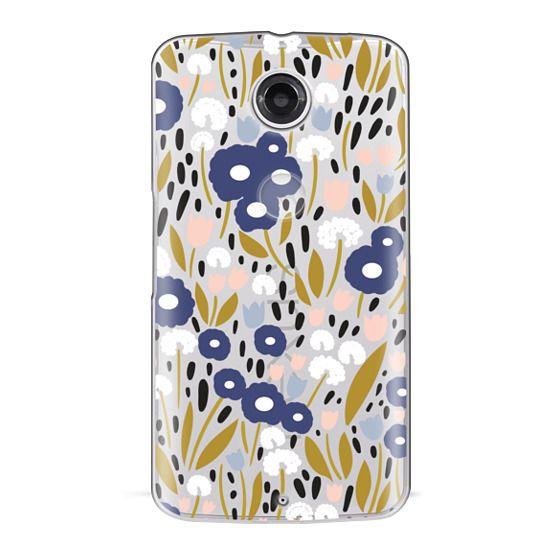Nexus 6 Cases - Floral Aura (clear)