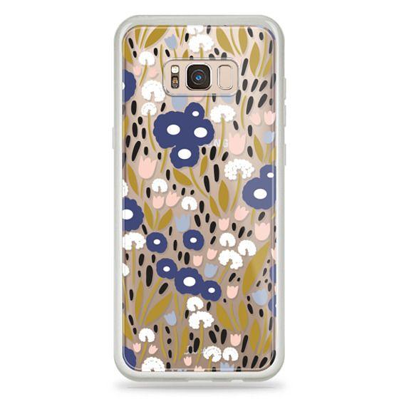 Samsung Galaxy S8 Plus Cases - Floral Aura (clear)