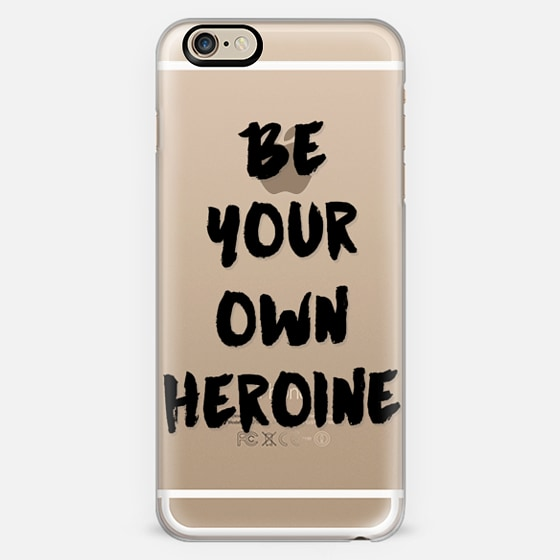 be your own heroine (black) -