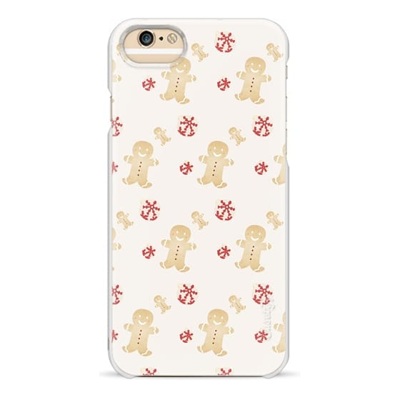 iPhone 6 Cases - Gingerbread Christmas