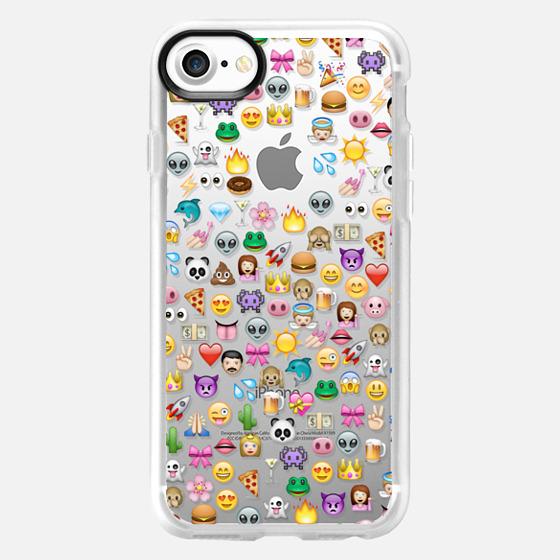 Emoji pattern - Wallet Case