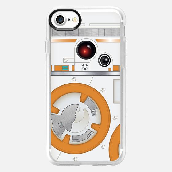 Orange droid - Wallet Case