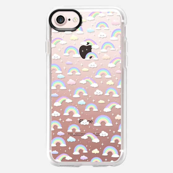 Pastel rainbow where the unicorns live :) - Wallet Case