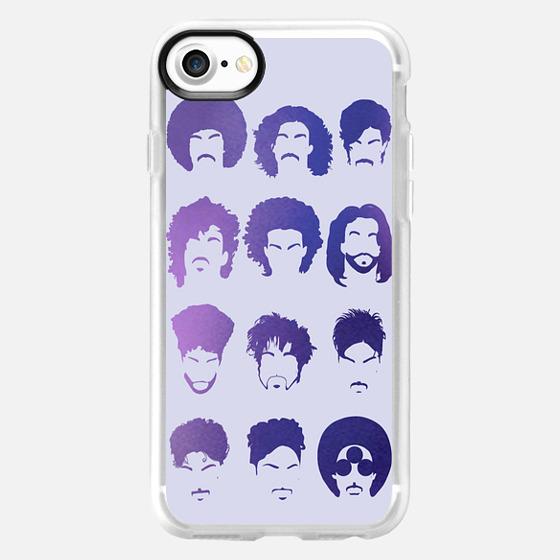 Purple rain, Prince tribute. Lavender case -