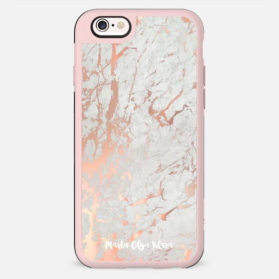 Rose gold marble / pink marble pattern - New Standard Case
