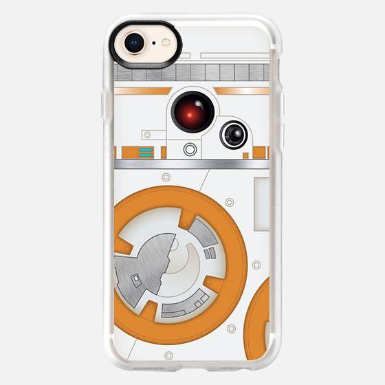 Orange droid - Snap Case