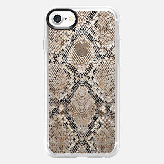 transparent background snake skin pattern