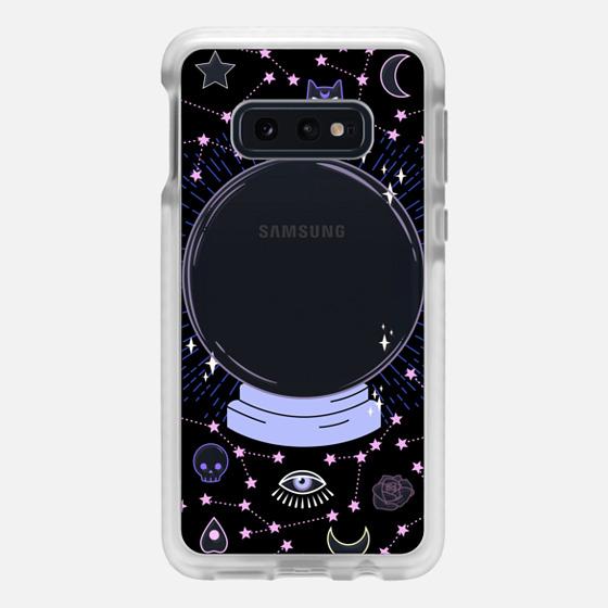 Samsung Galaxy / LG / HTC / Nexus Phone Case - Crystal ball on black background / mystical, magical, dreamy pattern