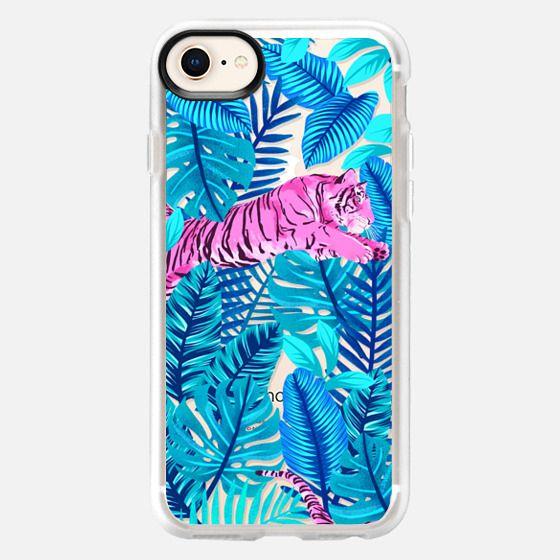 Pink tiger jungle - Snap Case