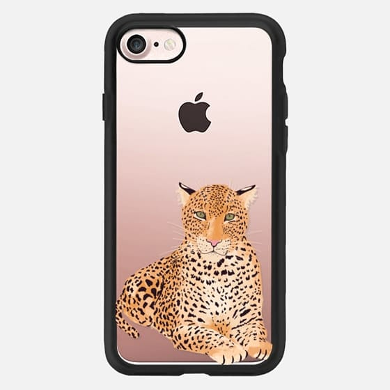 Wild cats series: Leopard illustration