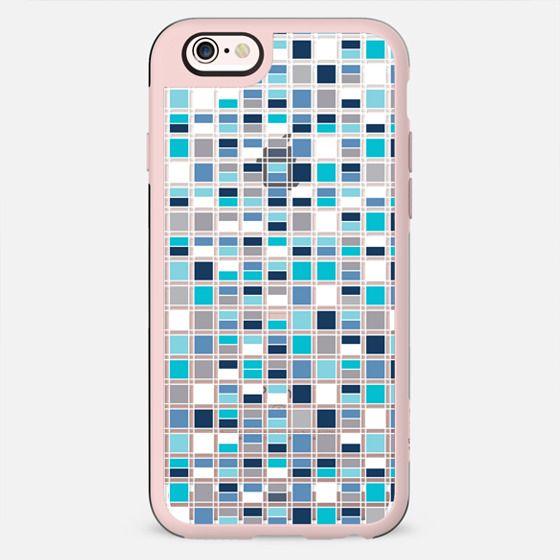Blue Grid - New Standard Case