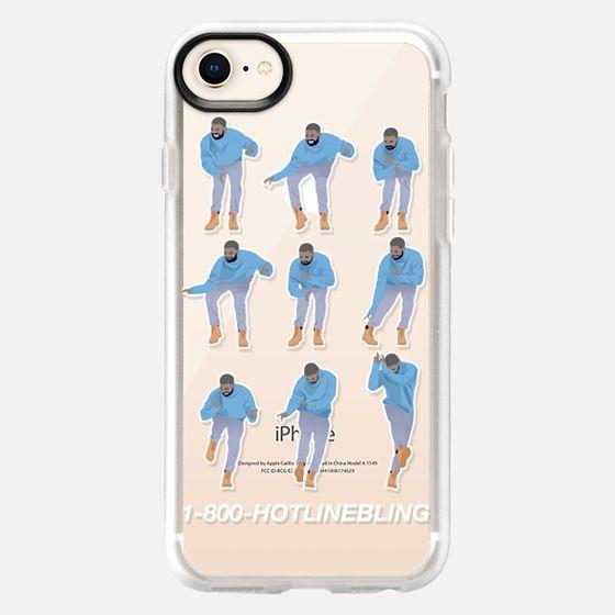 Hotline Bling (transparent case) - Snap Case