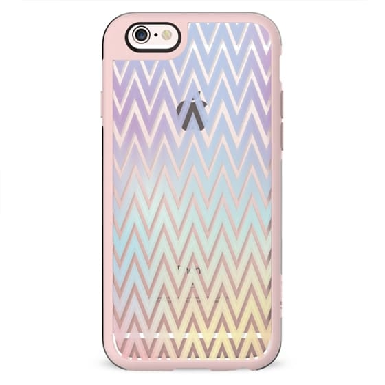 Rainbow chevron