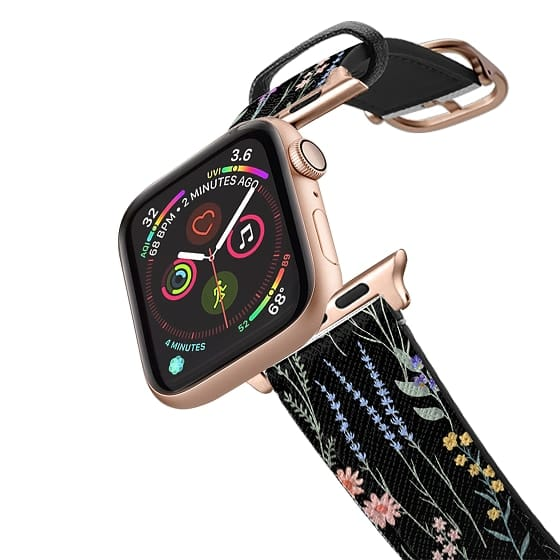 Apple Watch 38mm Bands - The meadows / petit  floral on black