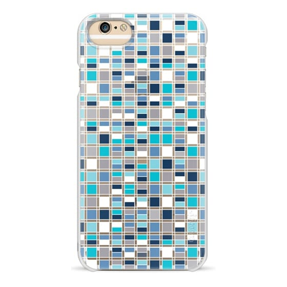 iPhone 6s Cases - Blue Grid
