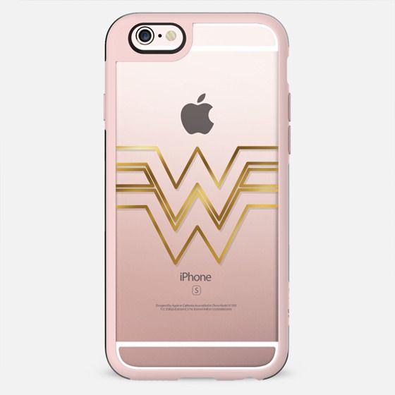 Warrior woman /gold caligraphy / wonder woman - New Standard Case