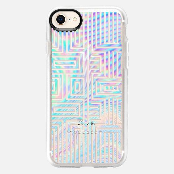 iridescent xoxo - Snap Case