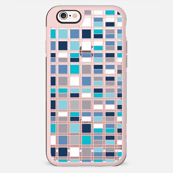 Blue grid 2 - New Standard Case