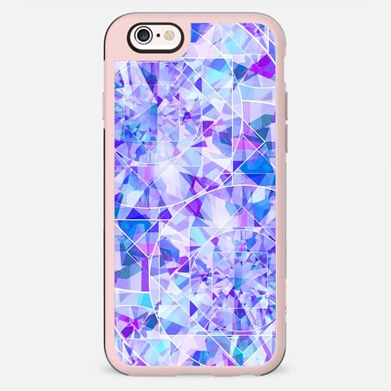 blue diamond pattern casetify