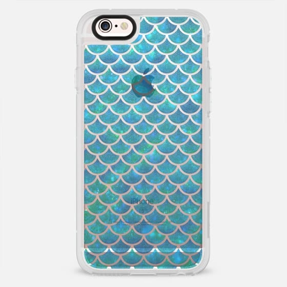 Mermaid scales iridescent shimmering sparkle - New Standard Case