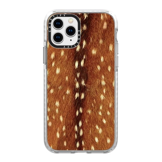 iPhone 11 Pro Cases - My dear Bambi - deer fur texture pattern