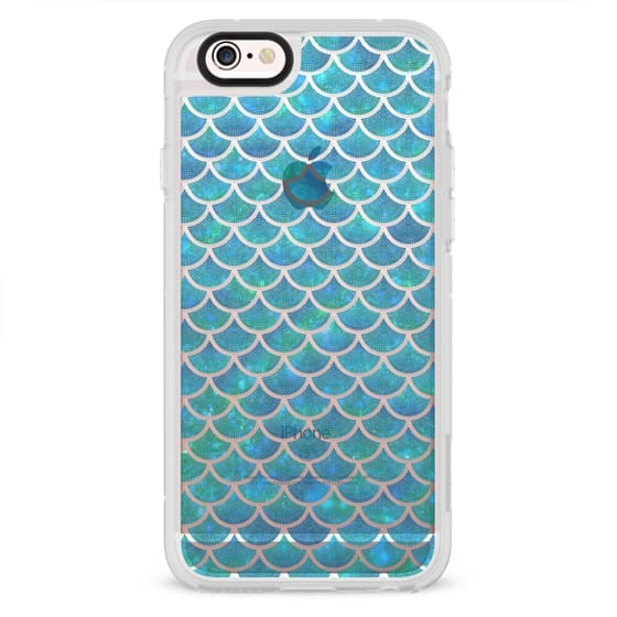 Mermaid scales iridescent shimmering sparkle