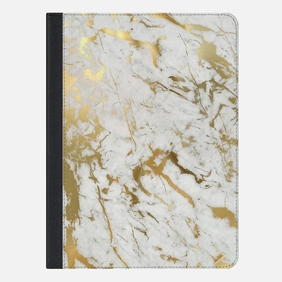 iPad Air 2 Case - Gold marble