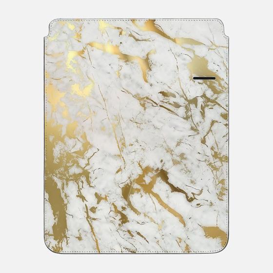 "iPad Pro 12.9"" Sleeve - Gold marble"