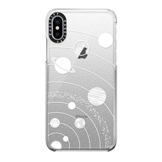 iPhone X Cases - Solar system interstellar fashionsita