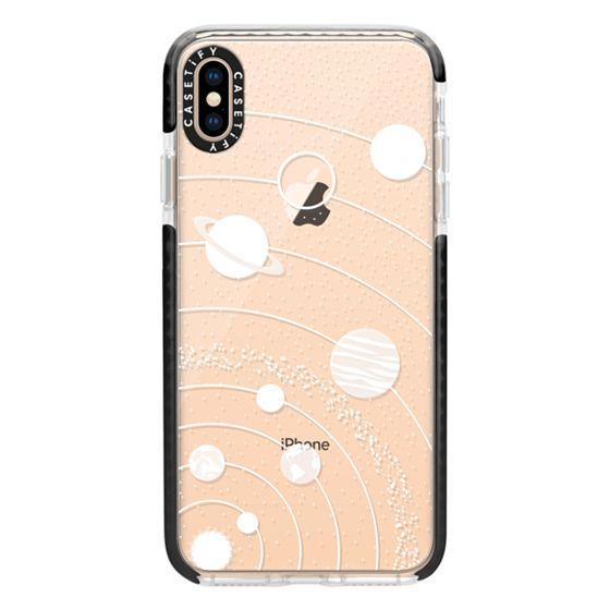 iPhone XS Max Cases - Solar system interstellar fashionsita