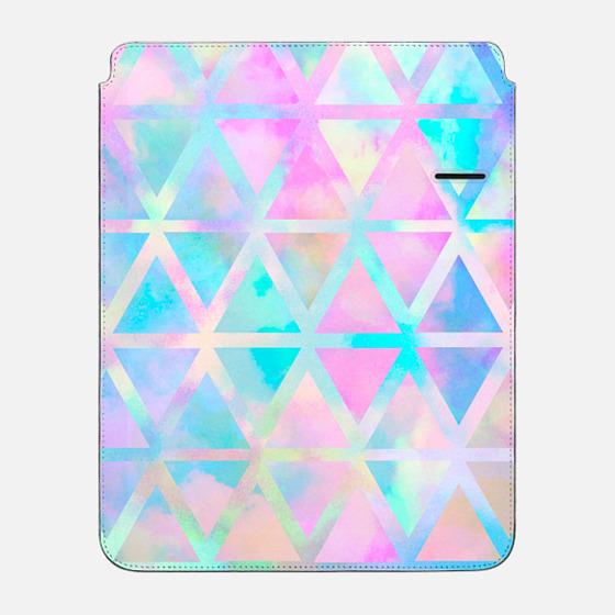 "iPad Pro 12.9"" Sleeve - pink aztec pastel"
