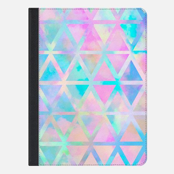 "iPad Pro 9.7"" Case - pink aztec pastel"
