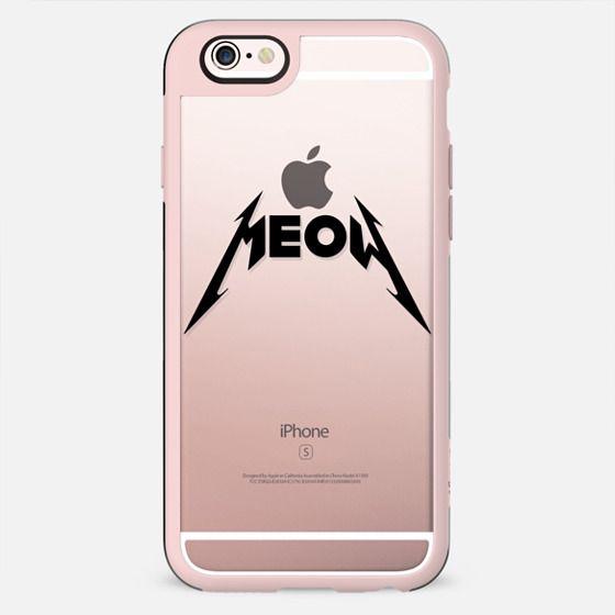 MEOW (cats love metal / hard rock font)