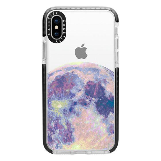iPhone X Cases - Moonrise