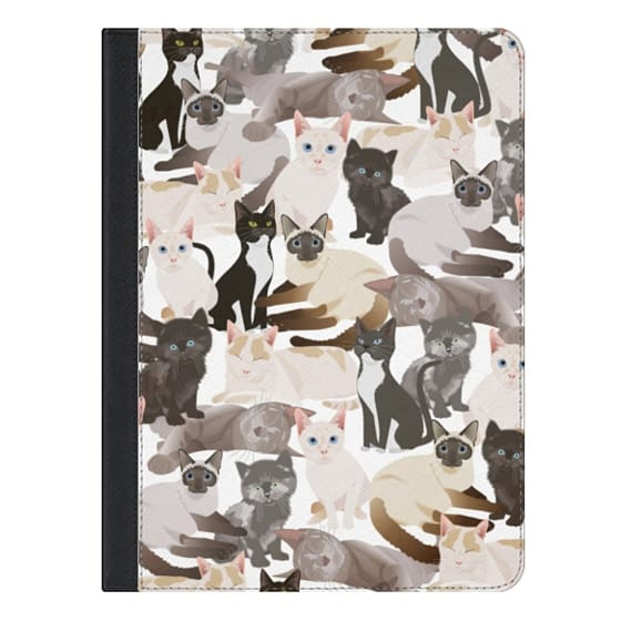 9.7-inch iPad Covers - Cat pattern