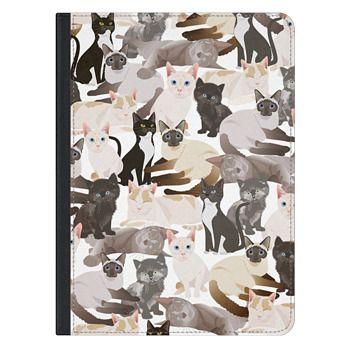 iPad Pro 12.9-inch Case - Cat pattern