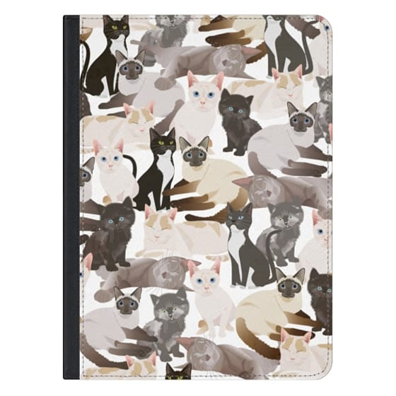 12.9-inch iPad Pro Covers - Cat pattern