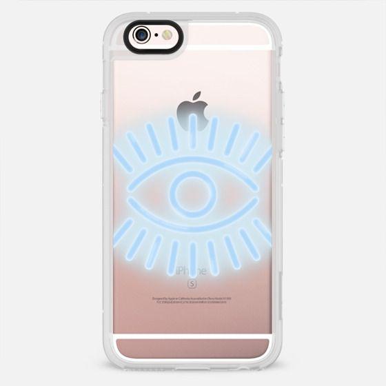Neon eye in blue - New Standard Case