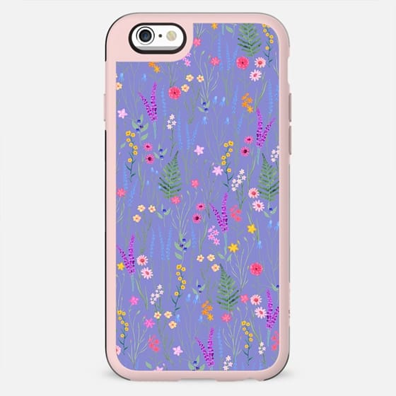 lavender meadows / petit floral pattern - New Standard Case