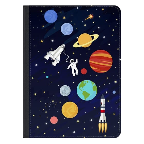 12.9-inch iPad Pro Covers - In space : solar system