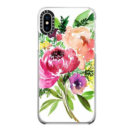 iPhone 6s Cases - Peony Bouquet