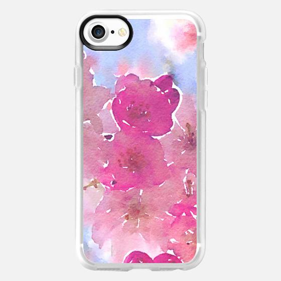 Pink Spring Blossoms 2 - Wallet Case