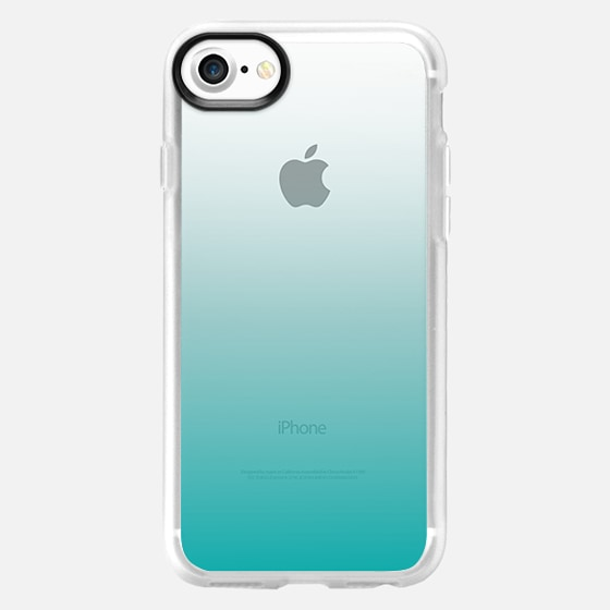 Teal Ombre - Wallet Case
