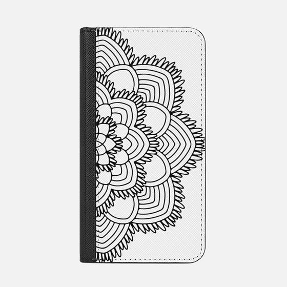 Mandala Lines - Wallet Case