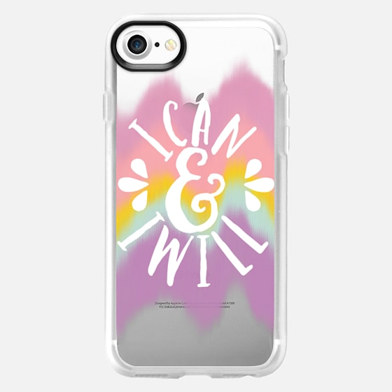 I Can and I will Color Waves - Classic Grip Case