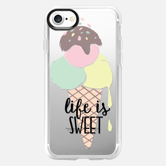Life is Sweet Ice Cream - Classic Grip Case