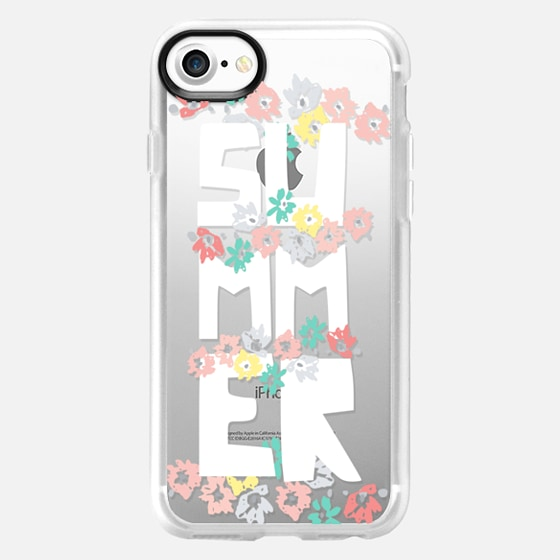 Summer Floral - Classic Grip Case