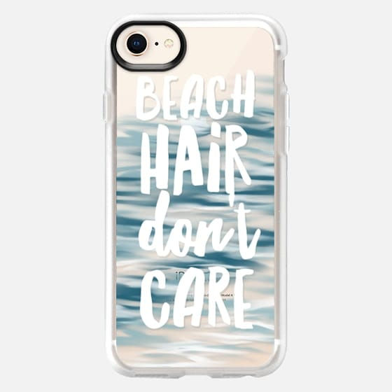 Beach Hair Don't Care - Snap Case