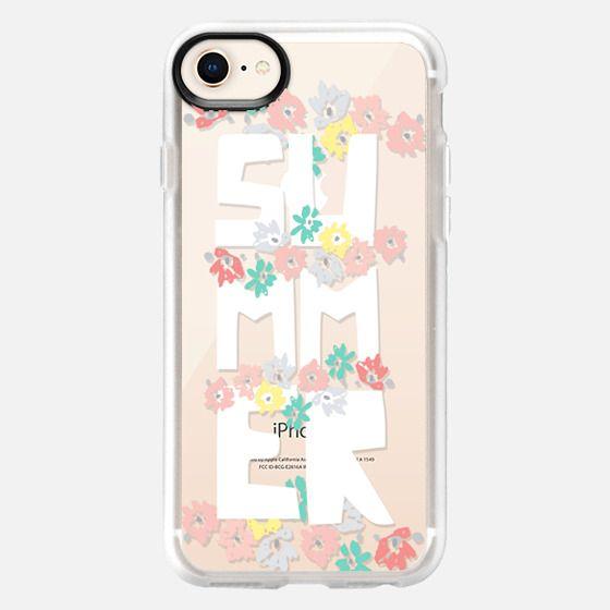 Summer Floral - Snap Case