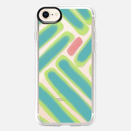 Green Finger Lines - Snap Case